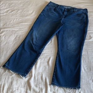 Old Navy High Rise Cropped Flare 14